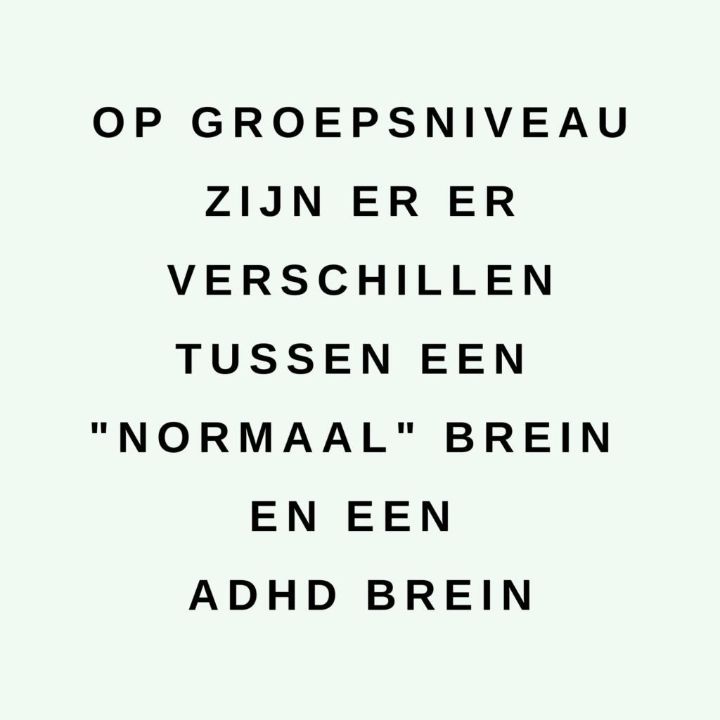 ADHD Hersenen